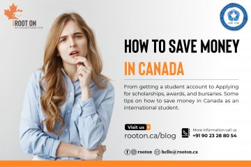 Canada Save money while studying